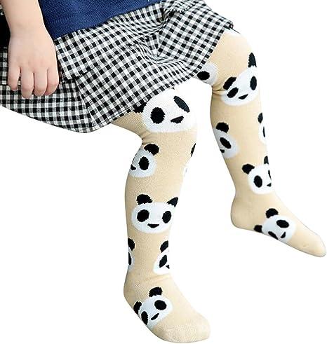Niñas Algodon Medias - Bebé Leotardos con Pies Elásticos Suave Pantys de Largo Invierno Polainas Leggings Pantimedias: Amazon.es: Bebé