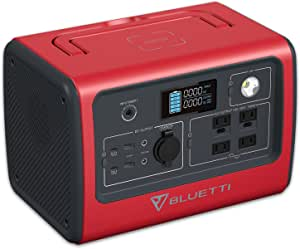 BLUETTI EB70 Portable Power Station 716Wh/700W Solar Generator LiFePO4 Battery Backup w/ 4 110V AC Outlets, 2 100W USB-C, Regulated 12V, Emergency Power Generator for Outdoor Camping Home RV Vanlife