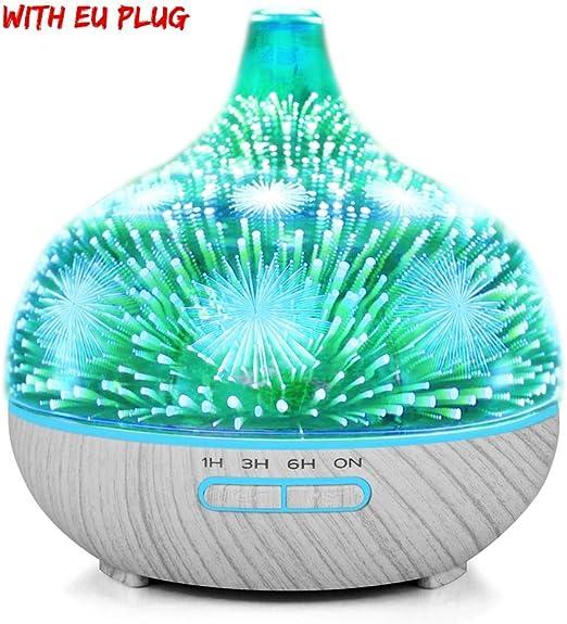 kingpo Difusor de Aroma, Difusor de aceites Esenciales ML ...