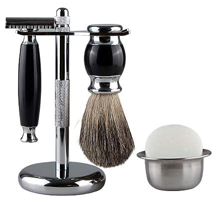 Tradicional Set de afeitado Maquinilla de afeitar Pelo de ...