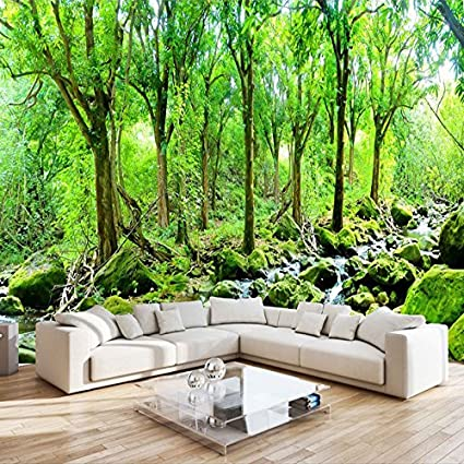 lwcx custom mural wallpaper wholesale 3d hd nature scenery forestimage unavailable