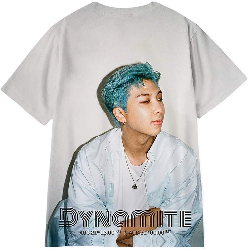 Kpop BTS Bangtan Boys Dynamite Kurzarm T-Shirt SUGA RM JIN Jimin V JUNG KOOK J-Hope Langarm Kapuzenpullover
