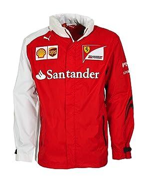 e90fb7f1867 Puma Scuderia Ferrari SF Team Chaqueta Ferrari Fórmula 1 Hombre Chaqueta  Alonso Rojo/Blanco, Rot, SF Team, Extra-Small: Amazon.es: Deportes y aire  libre