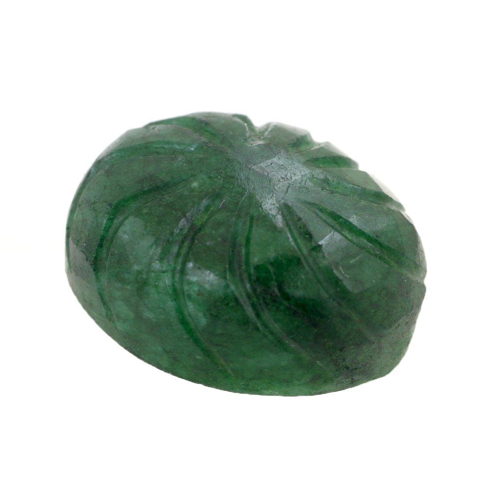 skyjewels 15 Ct Certified Brazilian Emerald Natural Gemstone