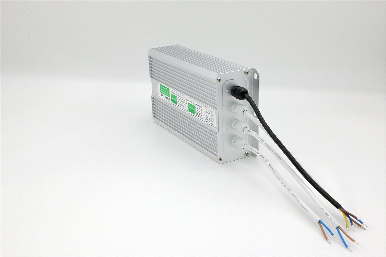 IP67 Impermeable la Tira de LED Fuente de Alimentaci/ón Transformador de Potencia DC12V 0.83A-25A 10W-300W