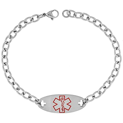tag baltics medical the id hope alert filigree s qm bracelet lauren