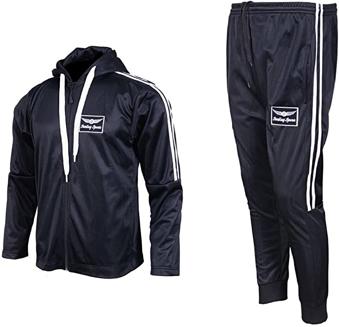 Sterling Sports® - Chándal - para Hombre Negro Negro XX-Large ...