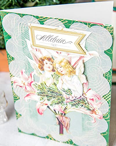 Angel DIva 3 Dimensional Greeting Cards set of 5 cards