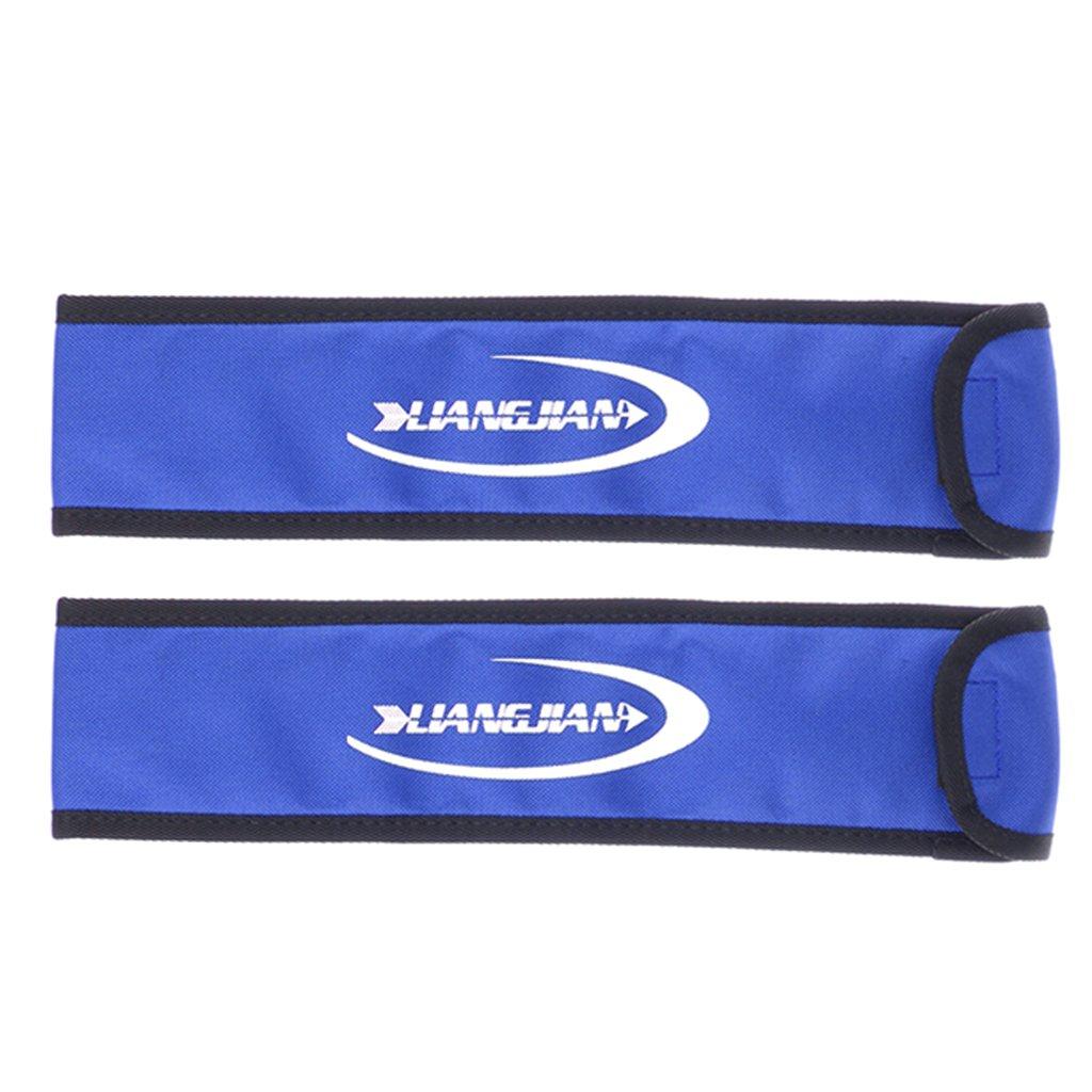 MagiDeal 2 Pcs Tir à L'arc Partie D'arc Sacoche De Protection Housse Archery Couteau Arc Longbow