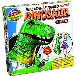 Small World Toys Naturaleza–hinchable. de dinosaurio T-Rex Kit, 109,2cm