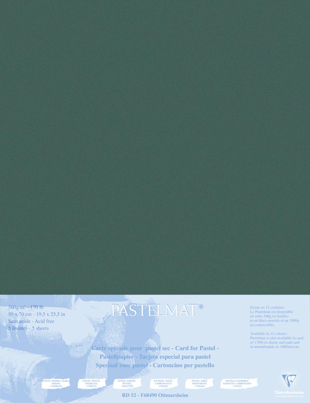 Clairefontaine 96011C Packung (mit 5 Zeichenbögen Pastelmat, 50 x 70 cm, 360 g, ideal für Trockentechniken und Pastell) braun B017NEFIIY   Zu einem niedrigeren Preis