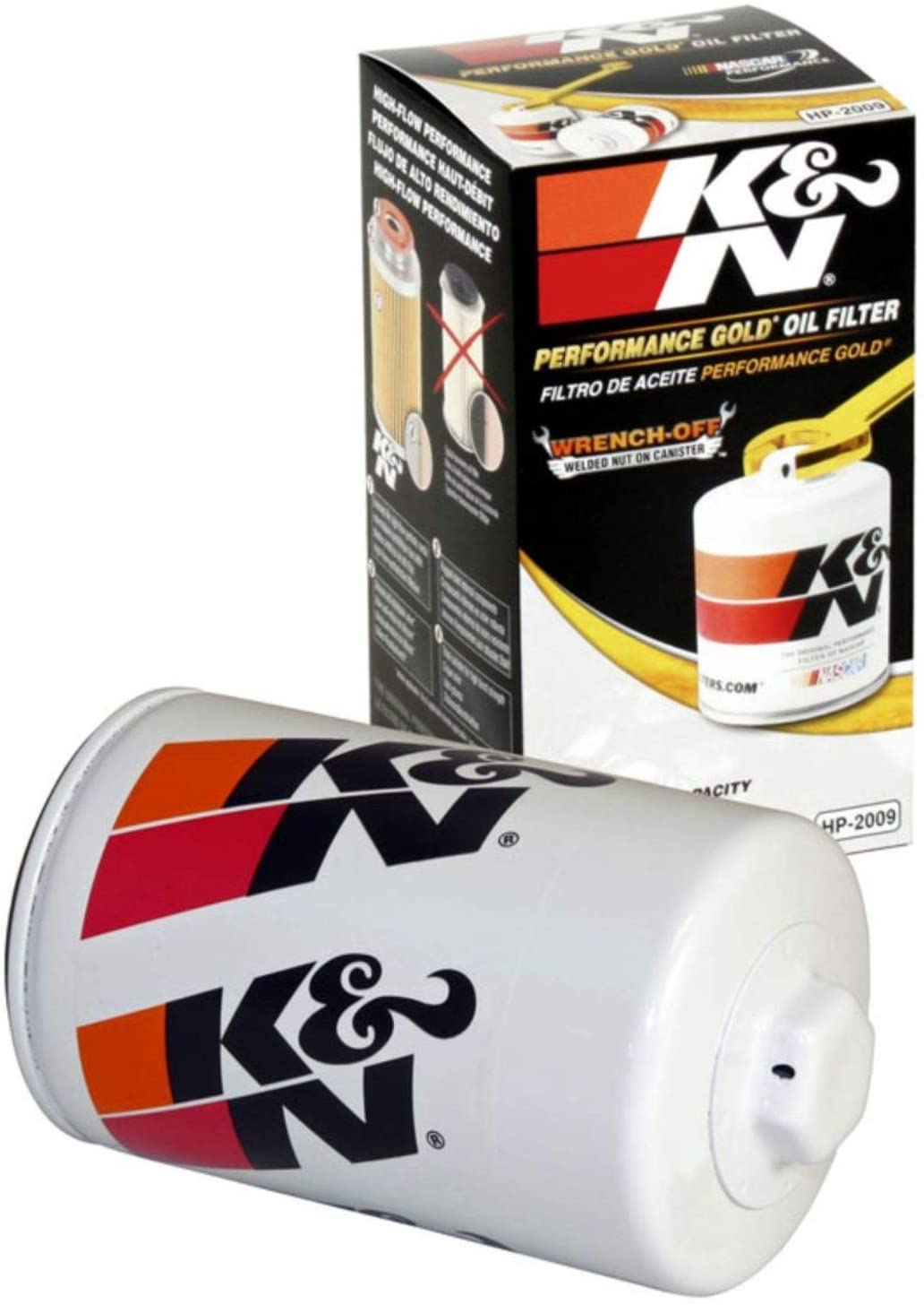 K&N Premium Oil Filter: Designed to Protect your Engine: Fits Select MAZDA/FORD/LINCOLN/DODGE Vehicle Models (See Product Description for Full List of Compatible Vehicles), HP-2009