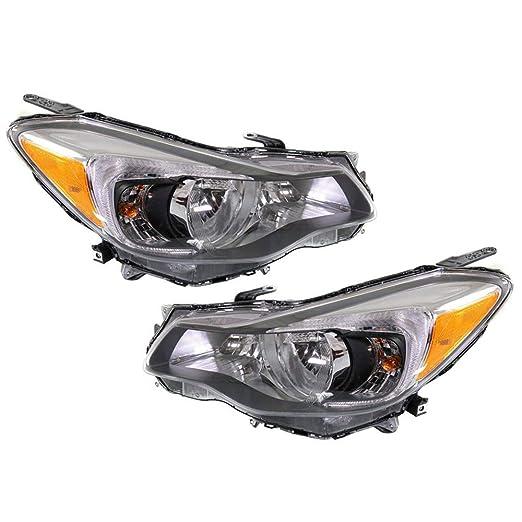 SU2502140 Fits 2012 2013 Subaru Impreza Sedan//Wagon Driver Side Headlight NSF