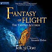 Fantasy of Flight: The Tainted Accords, Book 2 | Kelly St. Clare