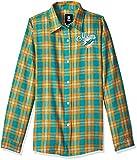 Miami Dolphins 2016 Wordmark Basic Flannel Shirt - Womens Medium