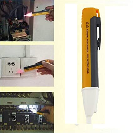 Winwill Probador eléctrico del voltaje de la CA de la luz del LED Sensor 90 ~ 1000V del detector de la pluma de la prueba del voltio