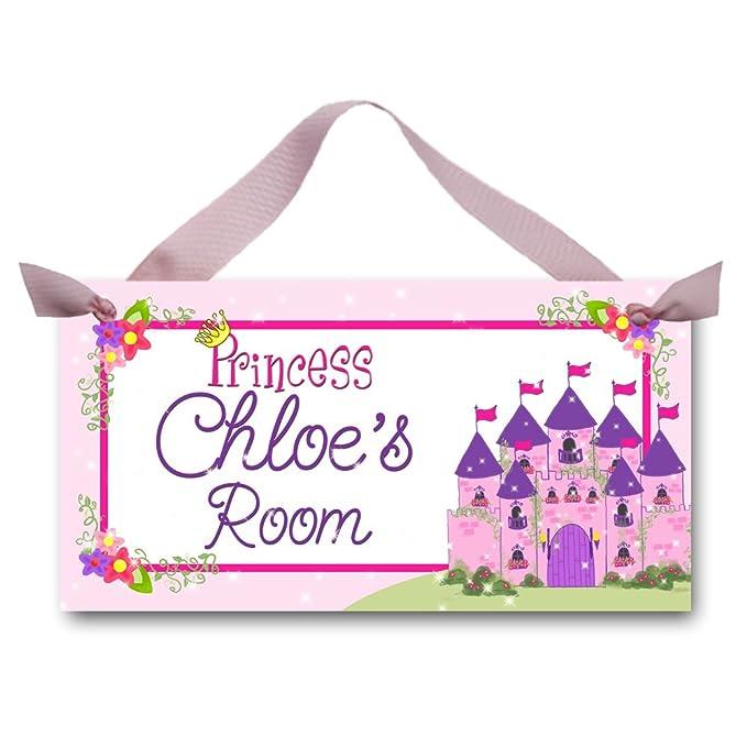 Amazon.com: Born To Be una princesa recámara de las niñas ...