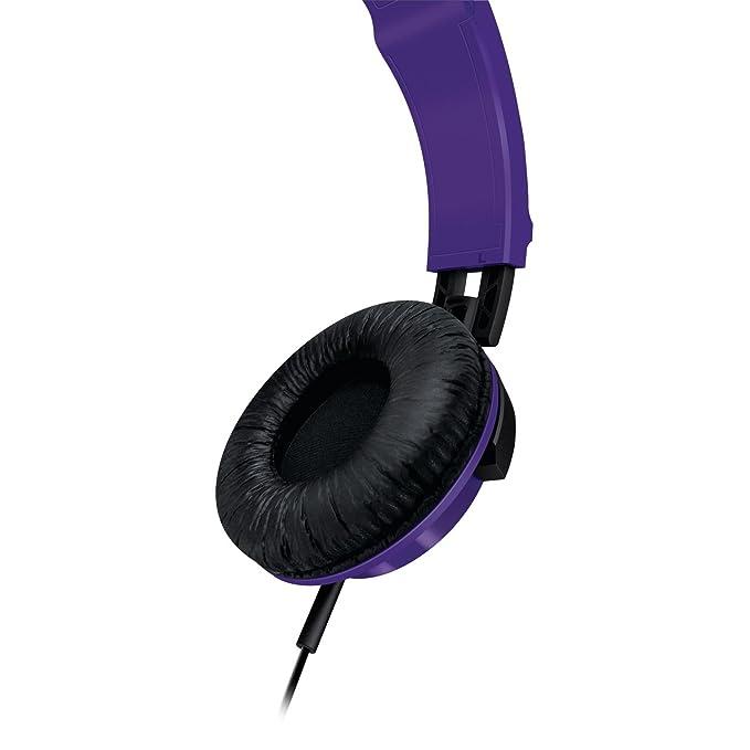 Philips SHL3000PP - Auriculares de diadema cerrados, color morado ...