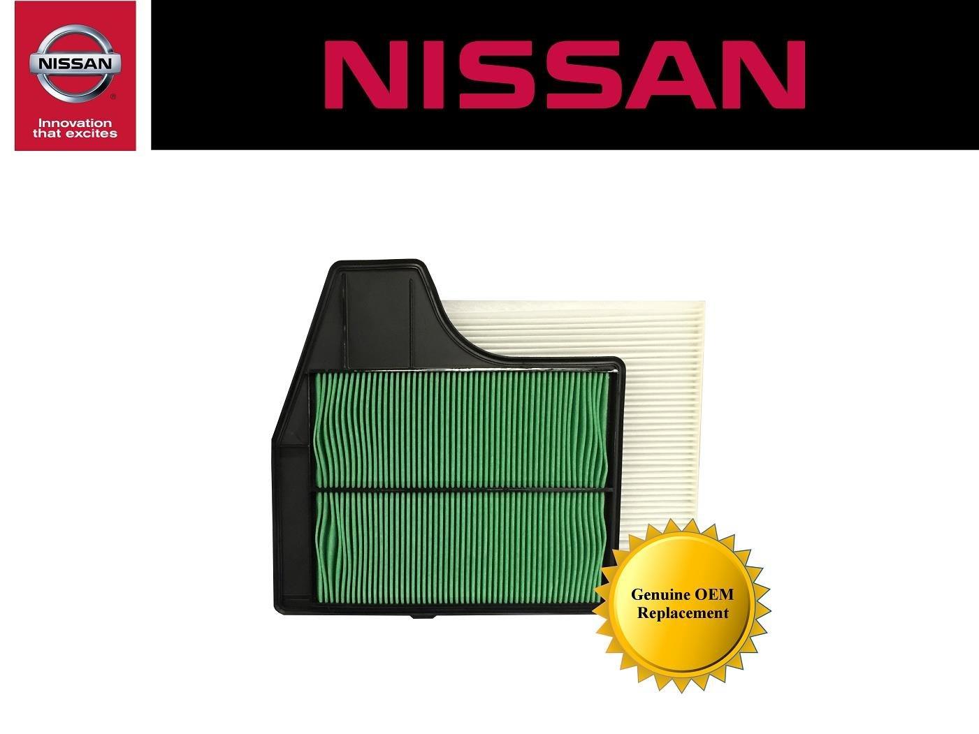 Genuine Nissan OEM Air Filter Kit 2013-2017 Nissan Altima 2.5 4 Cylinder