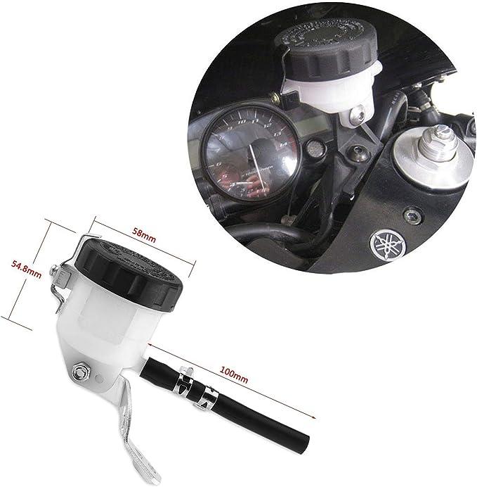 Nosii Bremsflüssigkeitsbehälter Bremsflüssigkeitsbehälter Mit Halter Für Suzuki Sv650 03 09 Sv100s 03 07 Küche Haushalt