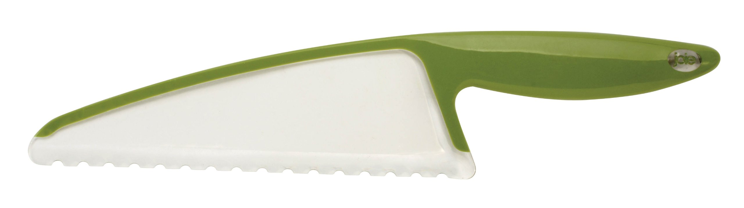MSC Joie Serrated Lettuce Knife, Kiwi/White 1 Ergonomic lettuce knife No more brown edges; knife will not oxidize lettuce Sharp, effortless lettuce slicing action
