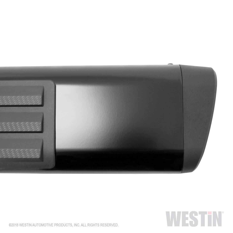 Westin 22-6025 Premier 75 X 6 Black Mild Steel Oval Side Bar