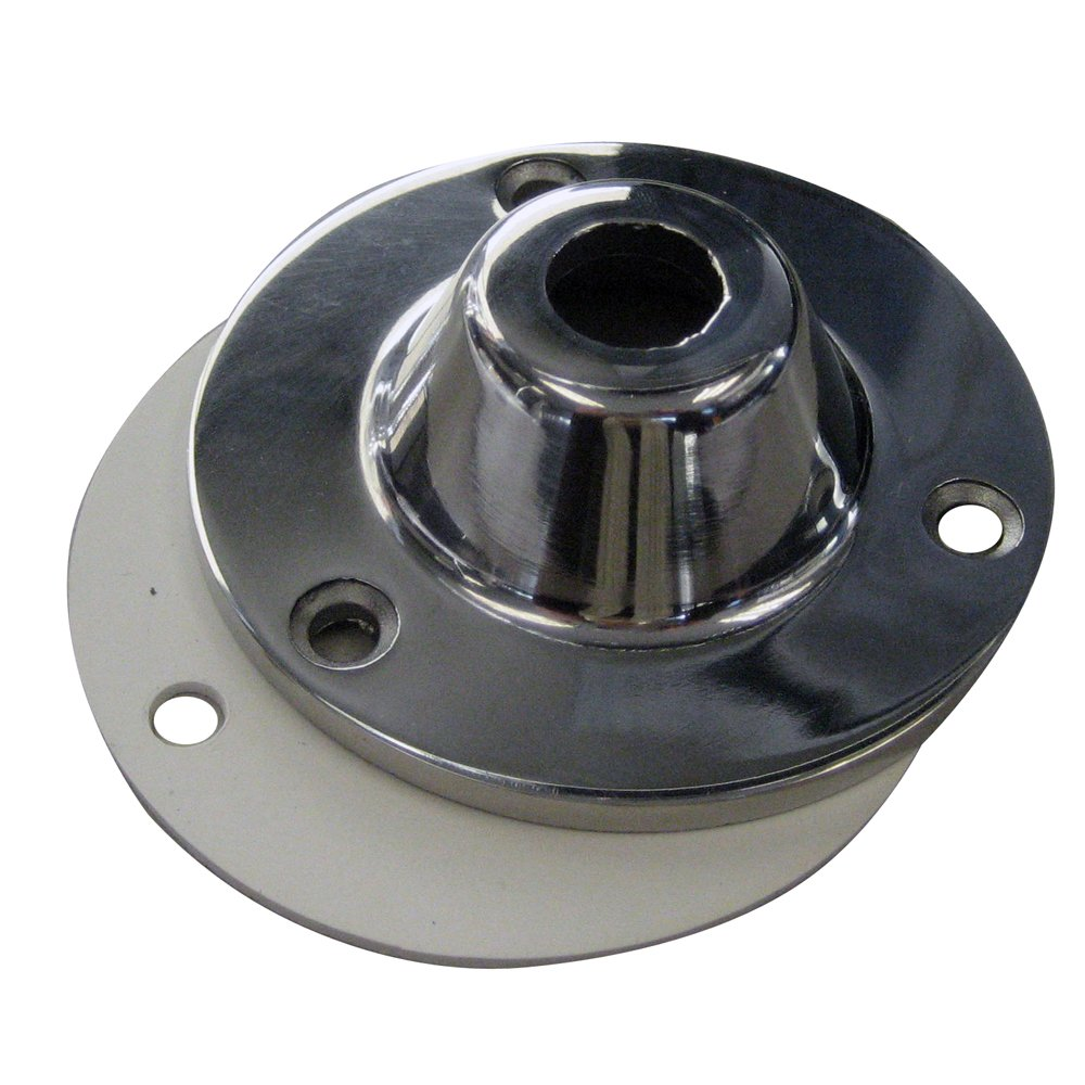 Pacific Aerials Stainless Steel Mounting Flange w/Gasket by Pacific Aerials (Image #1)