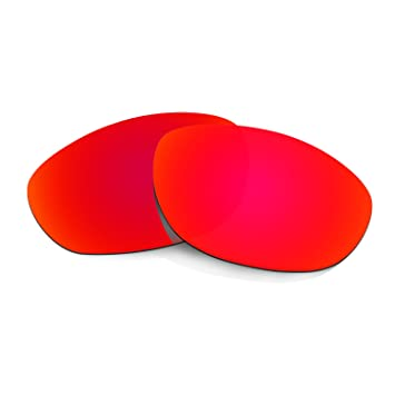 HKUCO Plus Mens Replacement Lenses For Oakley Monster Dog Sunglasses Red Polarized mDvpAm7m
