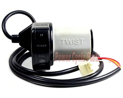 Amazon.com: 4 Alambre Twist Grip de velocidad variable de ...