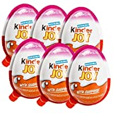 #9: Chocolate Kinder Joy for Girls with Surprise Inside (6-Pack)