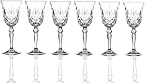 RCR Crystal Melodia Collection Liquor Glass Set (Pack of 6)