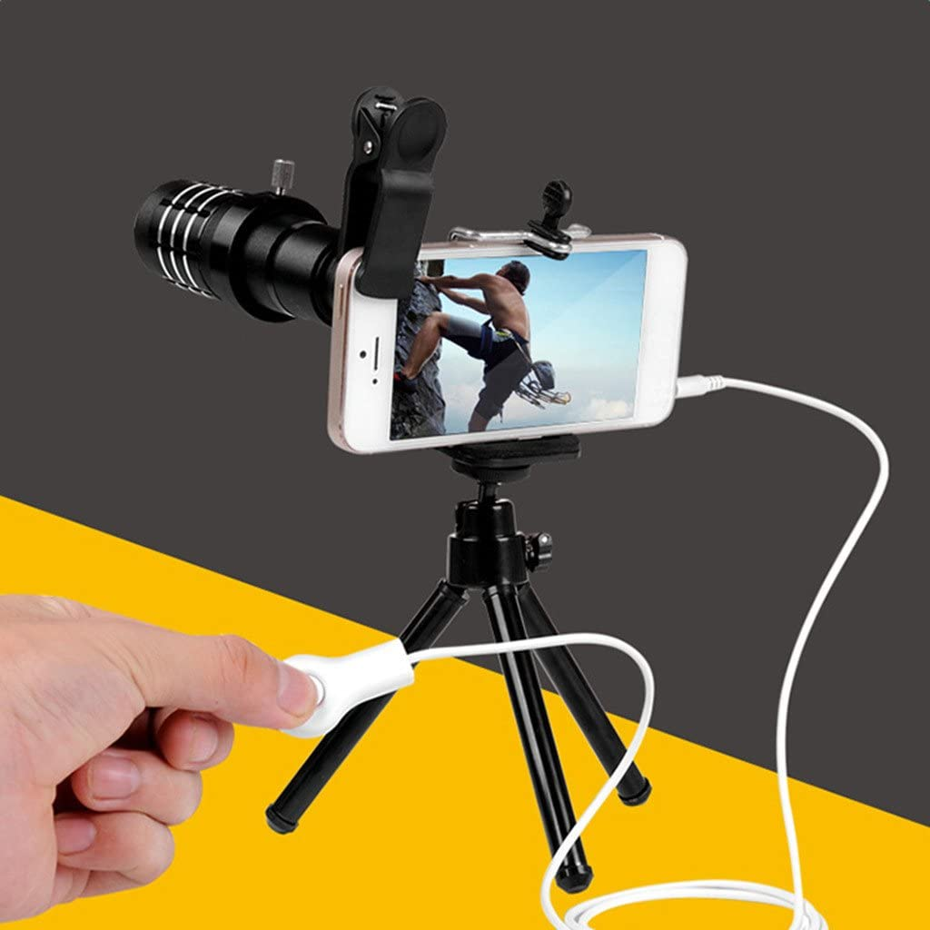 1.1m Selfie Camera Shutter Control Adapter for iPhone 6 Plus Samsung S8 S7+