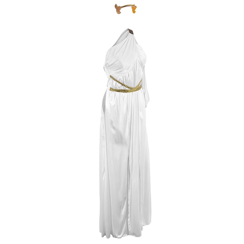 c3301ad8607d Amazon.com: Grecian Goddess Halloween Costume for Women | Athena, Aphrodite  Dress: Clothing
