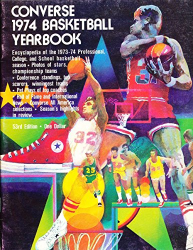 1974 Converse Basketball yearbook em by PandR publications