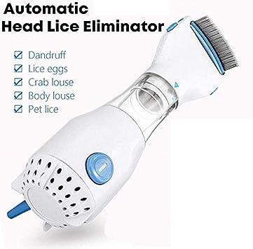Tratamiento limpiador eléctrico para eliminar piojos de cabeza ...