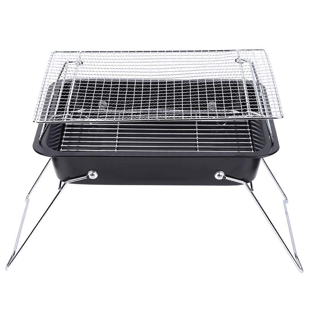 Gybai New Folding Portable Grill Home Kitchen Outdoor Camping Terrace Grill