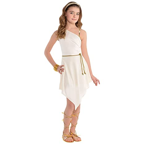06d7d5aa16 Buy Fancy Dress VIP Kids Girls Greek Grecian Venus Goddess Historical Fancy  Dress Book Day Costume Online at Low Prices in India - Amazon.in