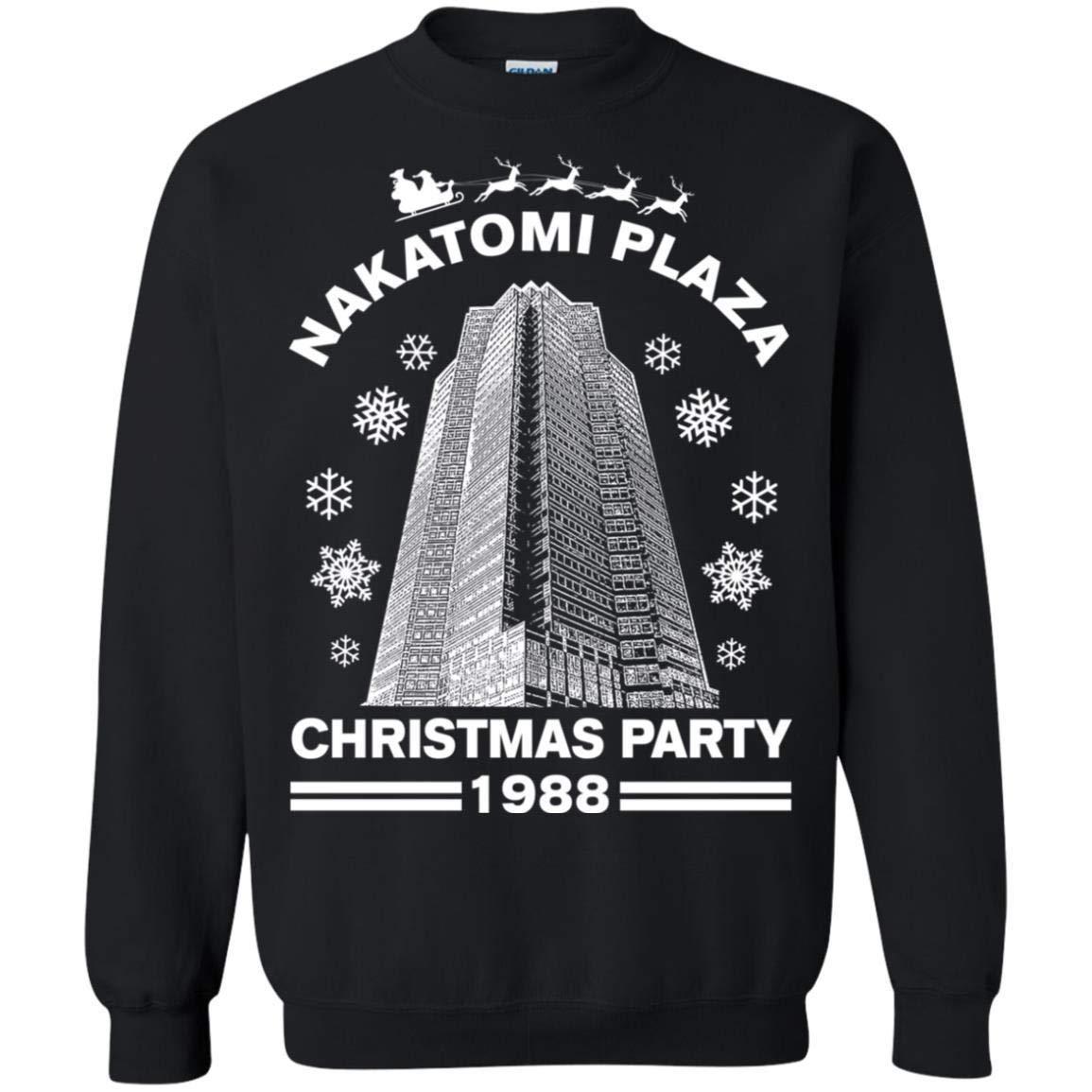 Teepowers Nakatomi Plaza Christmas Party 1988 Funny Pop Culture Unisex Shirts