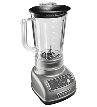 KitchenAid KSB1570SL 5-Speed Silver Blender