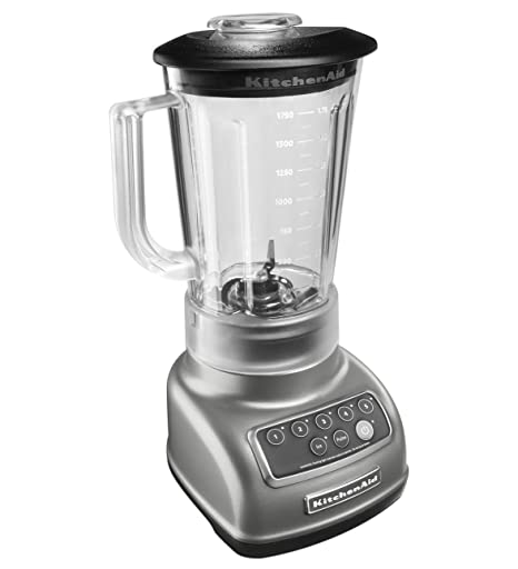 Kitchenaid Ksb1570sl 5 Speed Blender With 56 Ounce Bpa Free Pitcher Silver