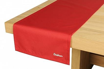 Colore Esterno Casa Rosso : Blyco runner tropez per tavolo da esterno cm colore