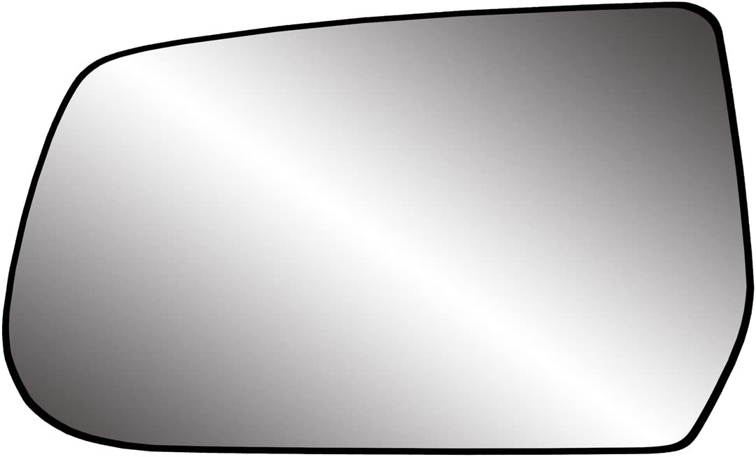 Fit System 88230 Chevrolet//GMC Left Side Power Replacement Mirror Glass with Backing Plate