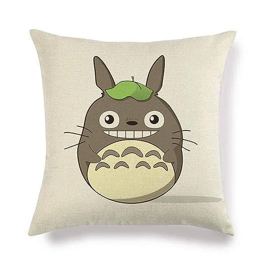 XLGJZT Fundas De Cojines Totoro De Cojín Serie De Regalo ...
