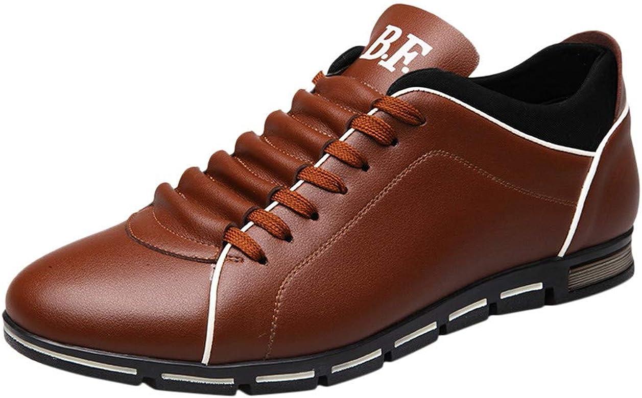 Fannyfuny_Zapatos para Hombre Zapatos Casuales Zapatillas Running Hombre Zapatillas Deportivas de Cordones Aire Libre y Deporte Transpirables Casual Zapatos Gimnasio Correr Sneakers: Amazon.es: Zapatos y complementos