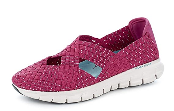 Skechers Women S Synergy Good Vibes Stretch Weave Mary
