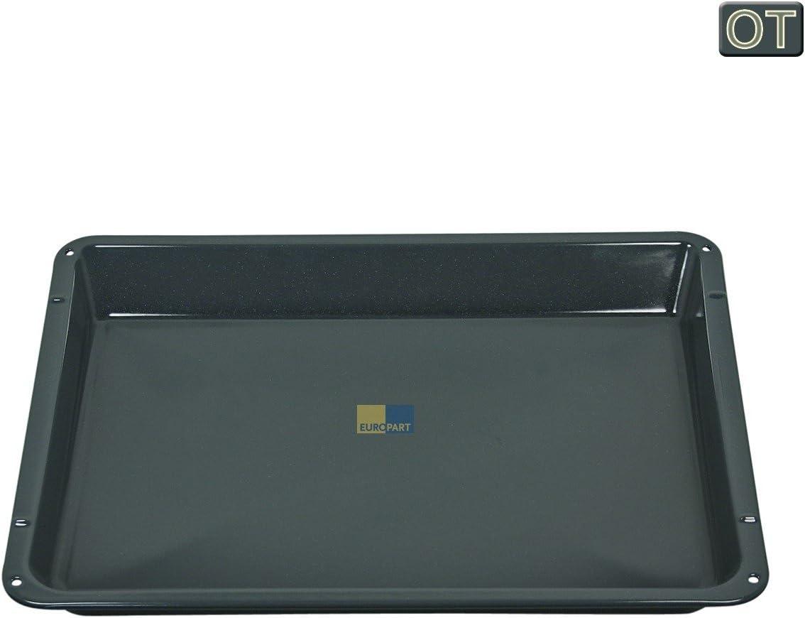 Bandeja de horno universal alta AEG 14002469802/3 466x385x38mm Placa esmaltada combinada