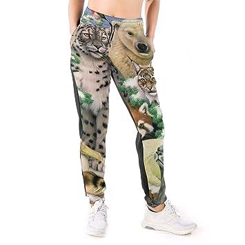 Yaitty - Pantalones de chándal para Mujer, diseño de Oso Polar ...