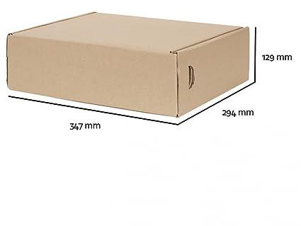 25 Caja de cartón plegable Seguridad Caja de DHL. M Envío ...