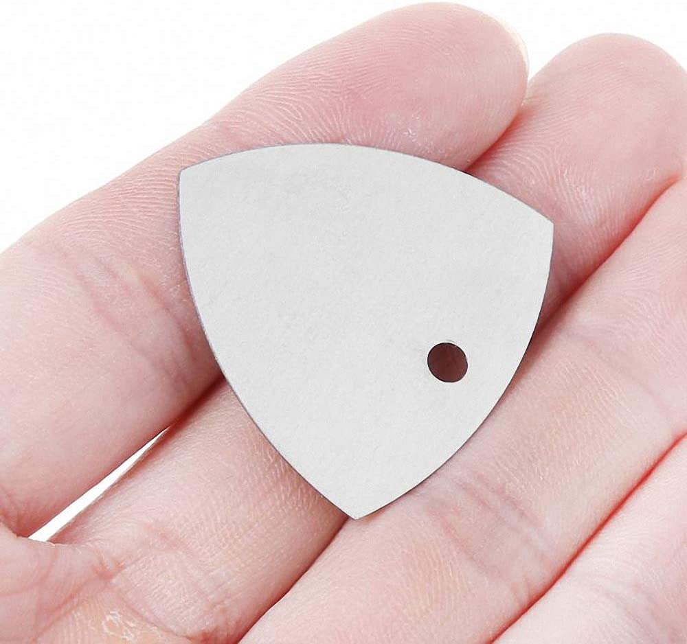 5pcs Triangle Metal Mobile Phone Opening Tool Guitar Picks Pry Opener