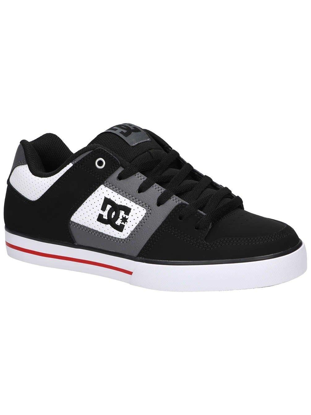 DC Zapatillas Pure Blanco/Negro/Rojo 9 UK|White/Black/Red Venta de calzado deportivo de moda en línea